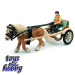 42040 - Pony carriage, THE HORSE IS INCLUDED