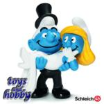 Bridal Couple Smurfs - PRE-ORDER NOW