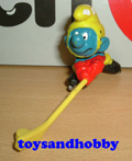 20032Y - Icehockey Smurf Yellow