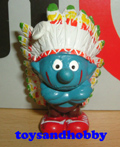 20144-YELLOW - Indian Chief Smurf, Yellow Version