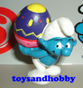 20515 - Smurf with Egg on back